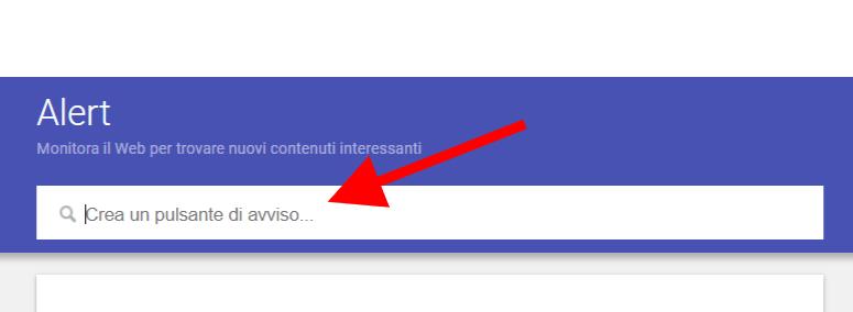 Reputazione online google alert