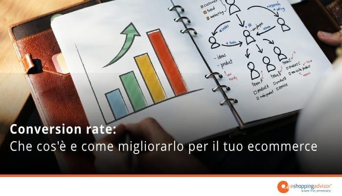 conversion rate negozi online