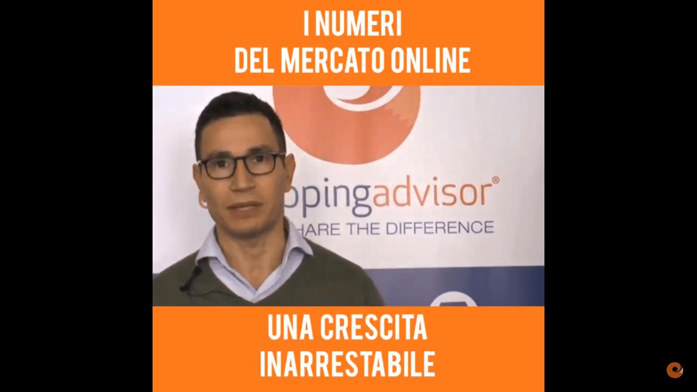 I numeri del mercato online