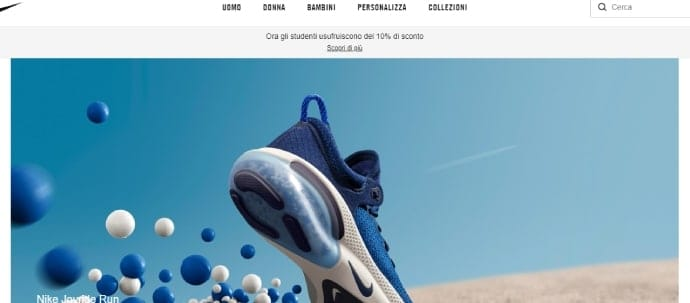 nike marketing omnichannel in italia