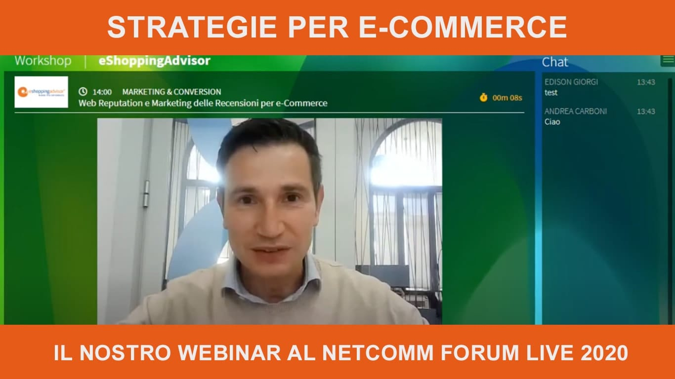 eShoppingAdvisor partner e sponsor NetComm Forum Live 2020