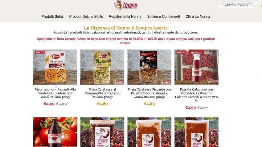 prodotti calabresi dove comprare online